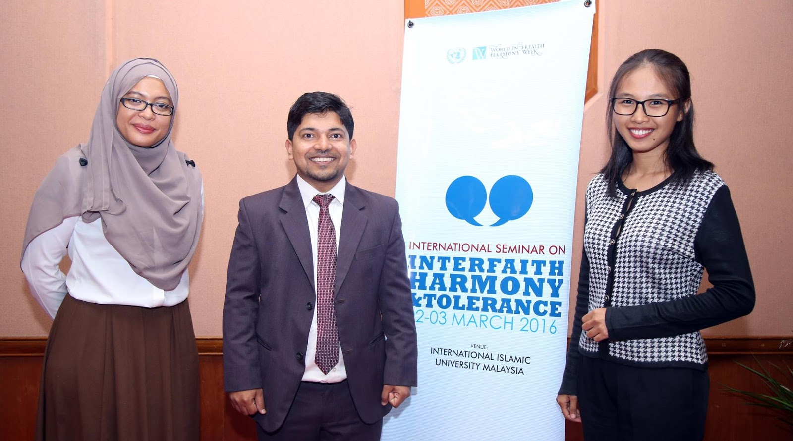 International Seminar on Interfaith Harmony and Tolerance 2016 in Kuala Lumpur, March 2-3