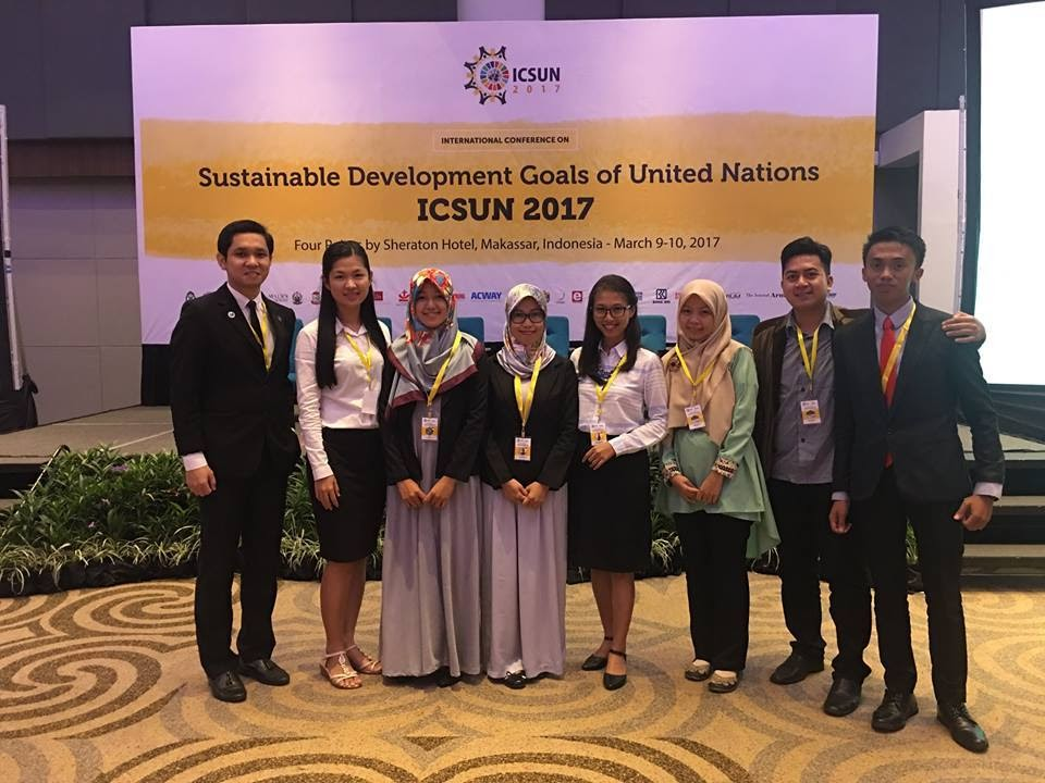 International Conference on Sustainable Development Goals of United Nations 2017 in Makassar, March 9-10