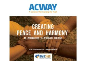 Creating Peace and Harmony: an Introduction to Interfaith Harmony and Dialogue