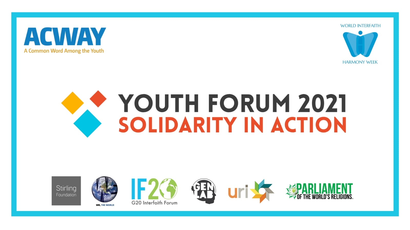 ACWAY Youth Forum 2021: Solidarity in Action (online)